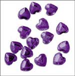 Purple Diamond Hearts
