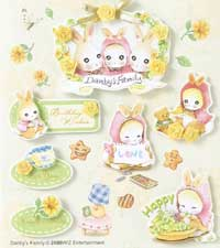 Danby's Family- 3D Decoupage Stickers