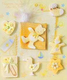 Yellow Bear - 3D Decoupage Stickers