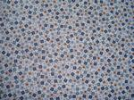 "Mini Blue Flowers Scrapbooking Paper 12x12"""