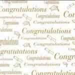 Graduation (Gold) - Vellum Paper