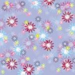SC Double Sided Paper, Purple & Pink Flowers