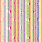 SC Double Sided Teen Theme Bright Pastel Hearts Paper