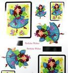 Birthday Fairy Design A Topper