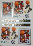 Sporting Crazy Design A Topper Card