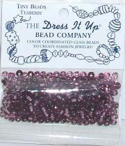 Teaberry Glass Beads