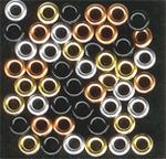60 Metallic Autumn Eyelets