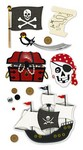 Pirate Theme Sticker...