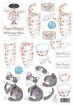 Cats - Decoupage Paper
