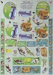 Golf & Fishing Dufex Decoupage