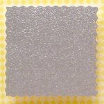 Square Deckled Panels, pack of 50 - Textured Luxury Silver