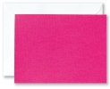Bright Pink Blank Card with Envelope and Polythene Bag